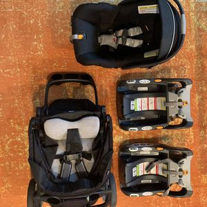 Bravo Keyfit30 Travel System + Extra Car Base for Sale in Austin, TX