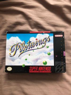 Pilotwings CIB SNES Super Nintendo for Sale in Sacramento, CA