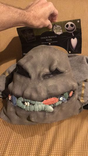 Halloween mask the nightmare before Christmas GLOW IN THE DARK for Sale in Littleton, MA