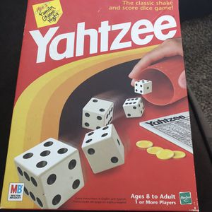 Yahtzee Dice Game for Sale in Saint Paul, MN