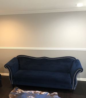 Blue Contemporary Sofa for Sale in FAIRMOUNT HGT, MD