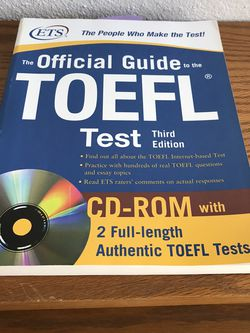 TOEFL Preparation Textbooks each $5 (78759.NW.Austin.) for Sale in Cedar Park,  TX