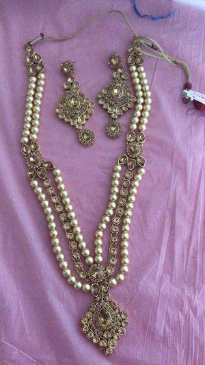 Diamond set with earrings for Sale in Denver, CO