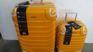 GABBIANO 2 PIECE LUGGAGE SET $105 BRAND NEW 8 WHEELS SPINNERS LIGHT WEIGHT EXPANDER SYSTEM for Sale in HALNDLE BCH, FL