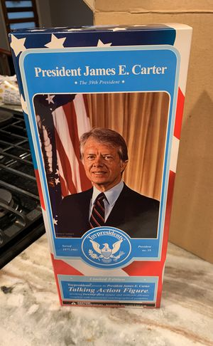 Collectible President Carter Action Figure for Sale in Dallas, TX