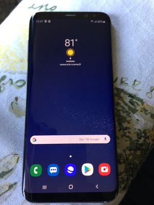 Samsung galaxy s8 plus tmobile unlocked for Sale in Anaheim, CA