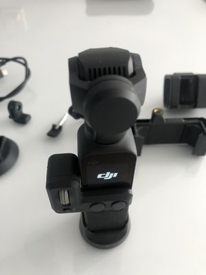 DJI POCKET 4k camera gimbal with accesories for Sale in Los Angeles, CA