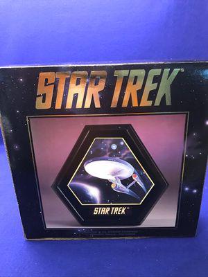 STAR TREK PLAQUE for Sale in Davidson, NC
