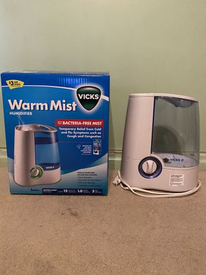 Warm mist humidifier for Sale in Arcadia, CA