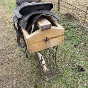 Decorative Saddle With Stand for Sale in Gilmer, TX