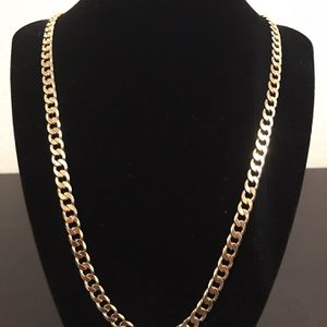 Gold Cuban Link Chain for Sale in Stanton, CA