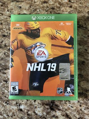 Xbox one NHL 19 for Sale in Apex, NC