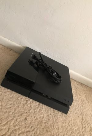 PS4 PlayStation with power cord for Sale in Bakersfield, CA