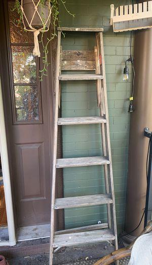 Wooden ladder for Sale in Denver, CO