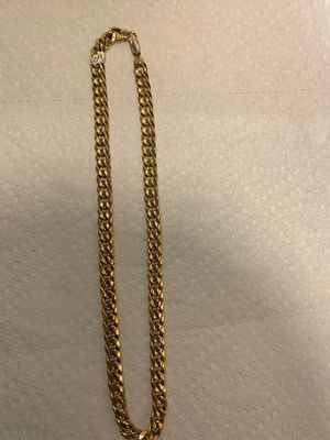 20 inch gold cuban chain for Sale in Chicago, IL