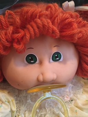 Vintage Cabbage Patch Doll still attached to box insert! for Sale in Cleveland, OH