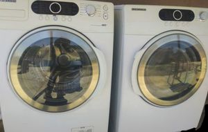SET. SAMSUNG. GAS DRYER. AND WASHER for Sale in Phoenix, AZ