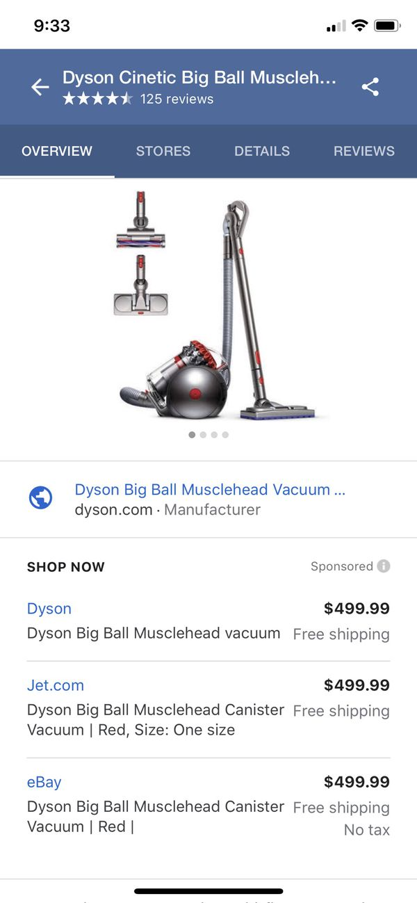 Dyson Musclehead Vacuum