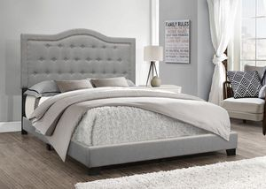 Queen bed frame with mattress set for Sale in Houston, TX