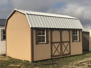 12x16 Elite Lofted Barn-Storage Shed-Portable Storage Buildings for Sale in Buda, TX