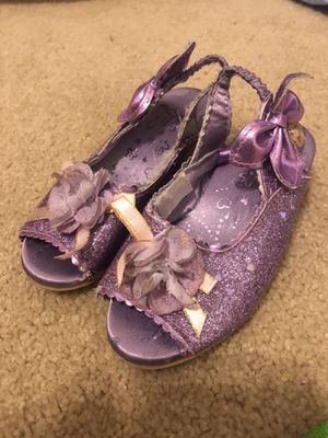 Toddler Rapunzel dress up shoes size 7/8 for Sale in Estero, FL