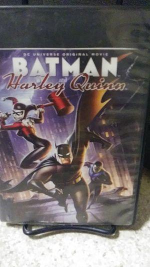 Batman & harley quinn dvd for Sale in Yakima, WA