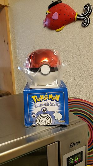 Pokemon Poliwhirl inbox to protect authenticity for Sale in Hercules, CA