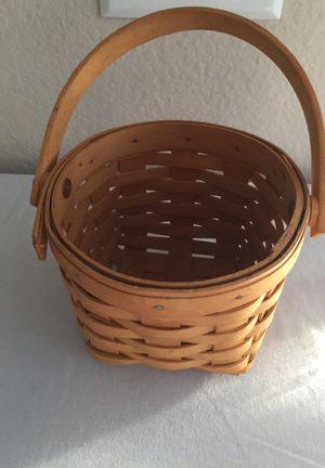 Longaberger 5 inch Basket for Sale in Frisco, TX