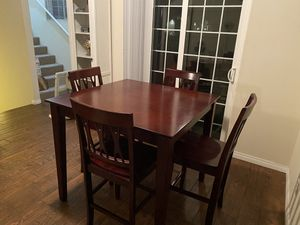 Ashley Furniture Table & Couch with pull out sofa sleeper! for Sale in Carlsbad, CA