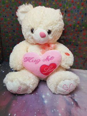 Hug me Love Cheeks Light Up and Instrumental Music Playing Teddy Bear for Sale in Santa Ana, CA