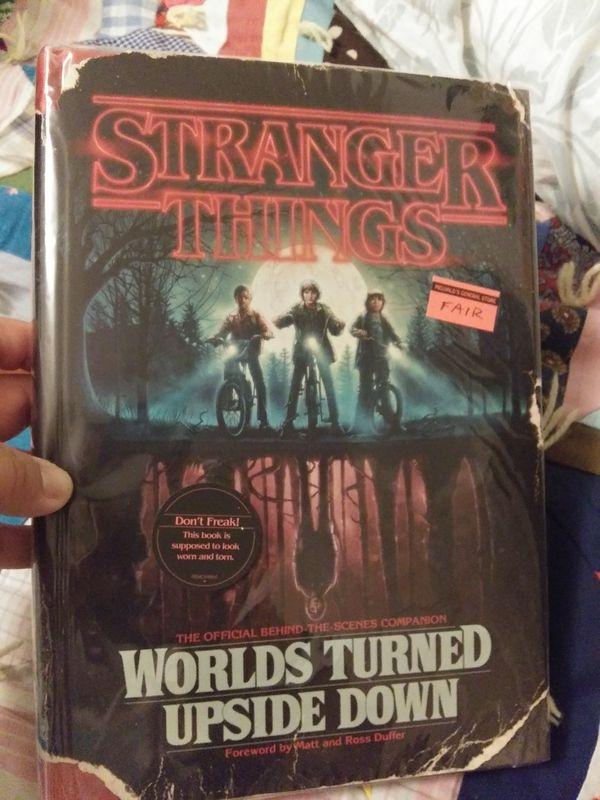 Stranger things world turned upside down book