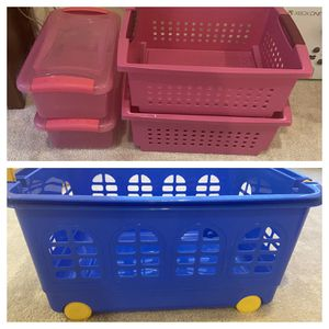 Toy Clothes Storage Kids Room Organization for Sale in Tampa, FL