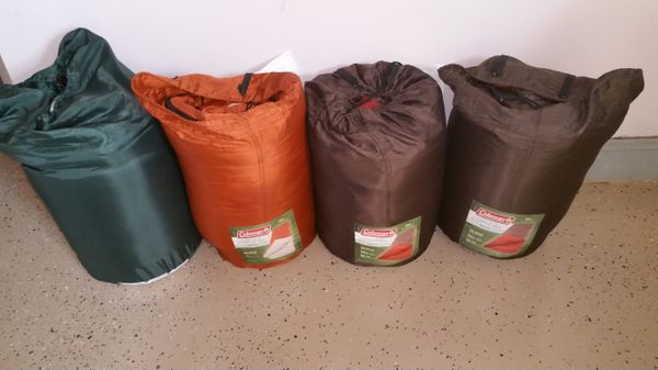 Sleeping Bags - Coleman and Northwest Territory