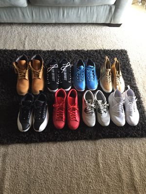 Nike,Jordan,Adidas,timberland $375 sz10.5 for Sale in Peachtree Corners, GA