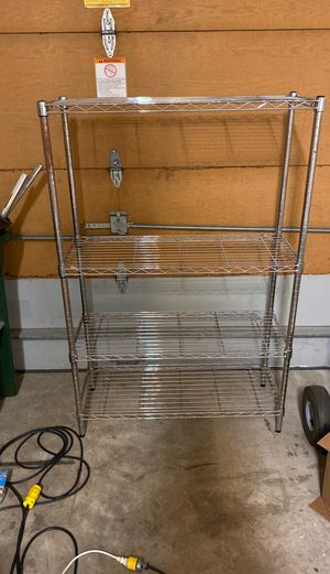 Free Metal storage shelving 36w55Hx14d I have 2 for Sale in Basking Ridge, NJ