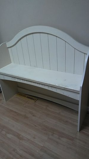 Small child bench/shelf 3 ft tall by 3 ft wide by 12 inch deep for Sale in Chesapeake, VA
