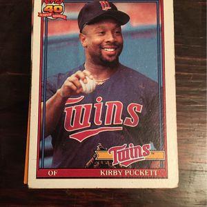 Minnesota Twins Baseball Cards for Sale in Morganton, NC