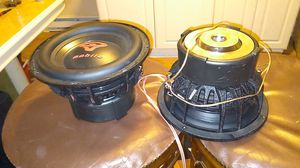 Dual voice coil Cerwin vega subs hit hard for Sale in Naugatuck, CT