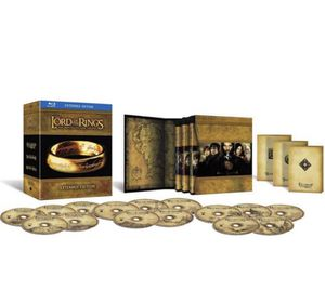 BluRay Lord of the Rings: Motion Picture Trilogy (The Fellowship of the Ring / The Two Towers / The Return of the King) Extended Edition Box Set for Sale in Lake Forest Park, WA