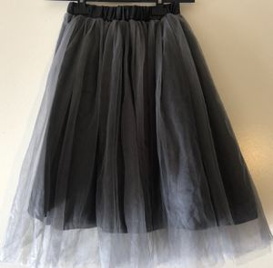 Tulle Skirt Grey Black One Size Fits S M L 8-12 for Sale in Del Sur, CA