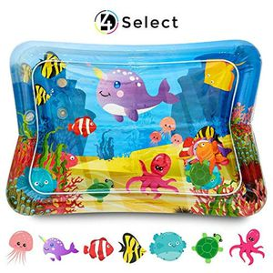 D4 Select Tummy Time Water Play Mat - Baby, Infant, Toddler, Kids, 3 Months and Up - Inflatable Playmat Toys for Newborns for Sale in Hawthorne, CA