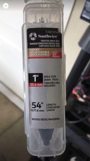 "Southwire FA1X54 1"" Auger drill bit - 54"" length - Flex Bit for Sale in Bentonville, AR"