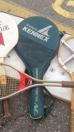 vintage tennis rackets for Sale in Saint Petersburg, FL