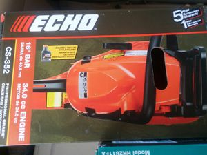 home depot echo 16 in. 34cc gas chainsaw for Sale in Austin, TX