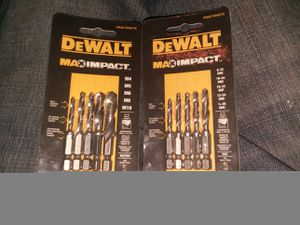 DEWALT IMPACT BITS for Sale in Franklin, TN