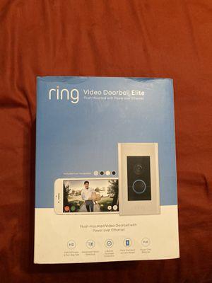 Ring Video DoorBell Elite for Sale in Dumfries, VA