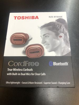 TOSHIBA EARBUDS BRAND NEW for Sale in Nashville, TN