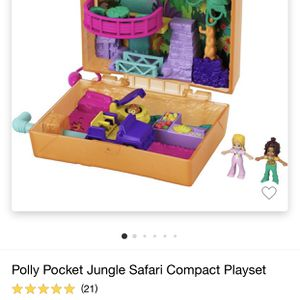 Polly Pocket Jungle Safari Play Set for Sale in Tampa, FL