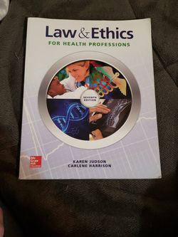 Text Book - Law & Ethics for Sale in Butler,  PA