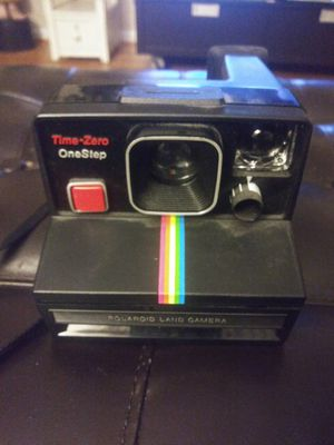 Polaroid Land Camera Time zero one Stop for Sale in Gaithersburg, MD